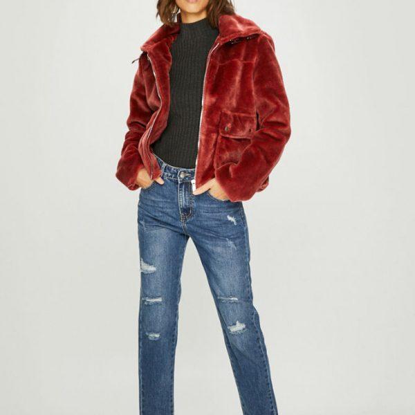 Jacheta dama din imtiatie de blana