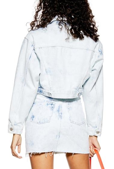 Jacheta de blugi dama retro