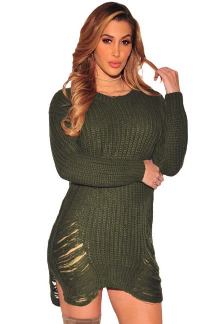 Pulover dama lung tip rochie