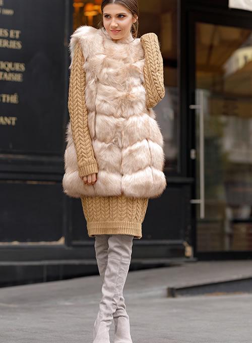 Veste blana artificiala dama 2019